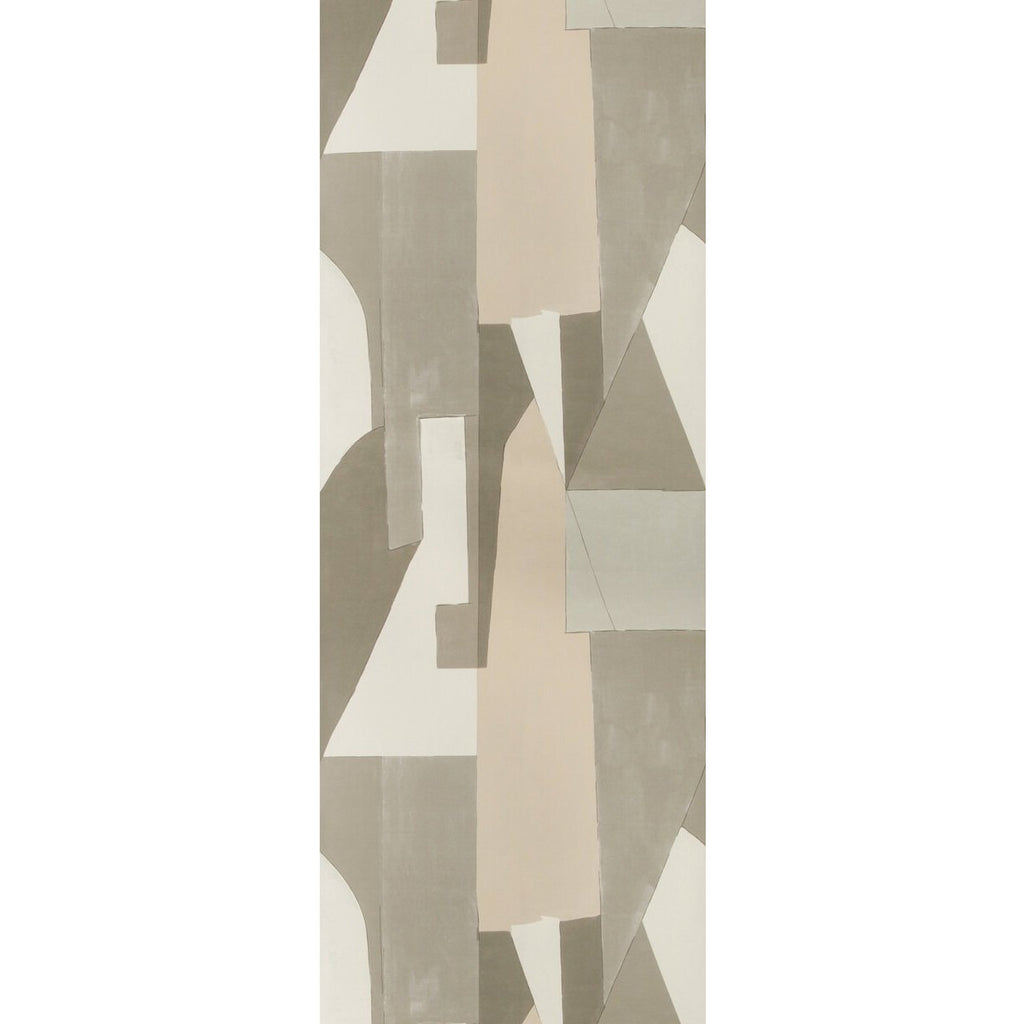 Groundworks Wallpaper GWP-3721.116 District Paper Alabaster