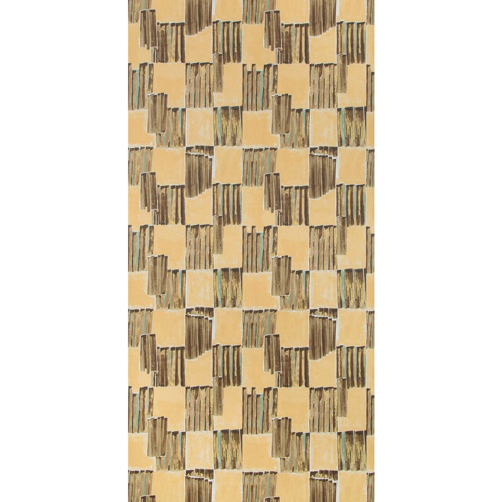 Groundworks Wallpaper GWP-3722.166 Lyre Paper Bronzed