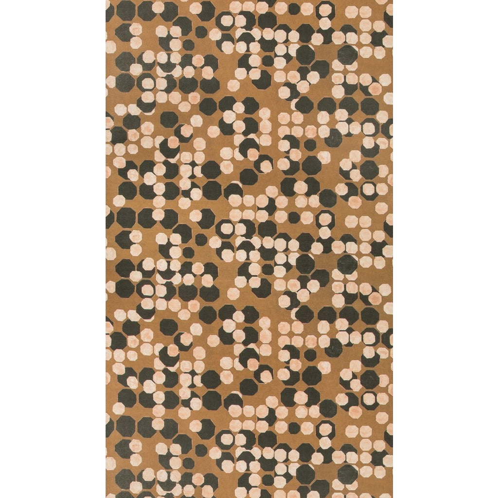 Groundworks Wallpaper GWP-3724.678 Hex Paper Coin - Inside Stores