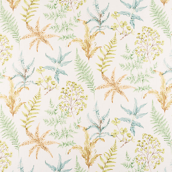 Scalamandre Fabric HH3803-001 Wethersfield Fern - Inside Stores