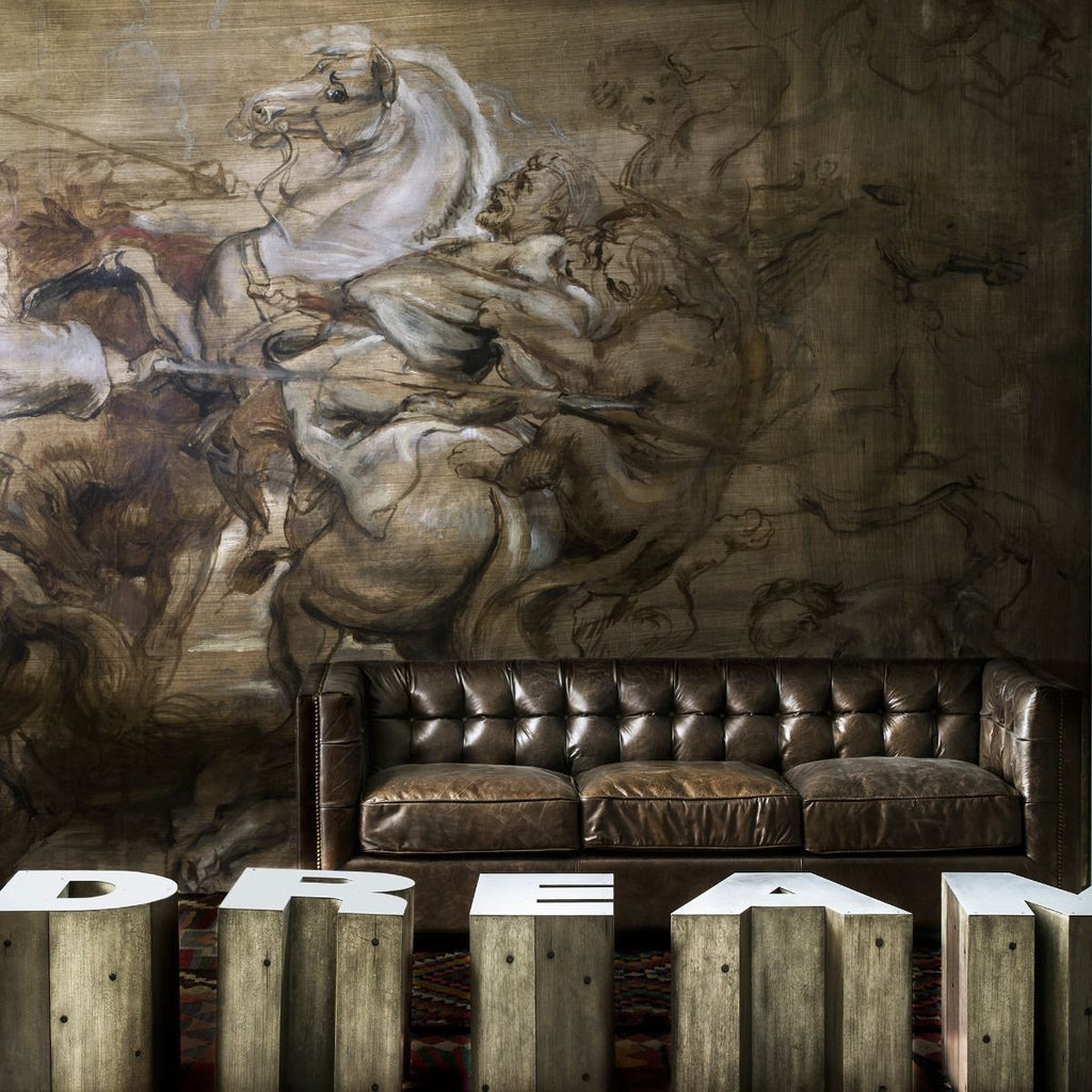 National Gallery Collection Bespoke Wallpapers by Andrew Martin
