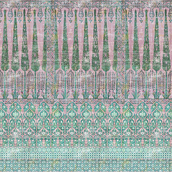 Scalamandre Fabric N4TO1C-019 Topkapi Garden Cotton - Inside Stores