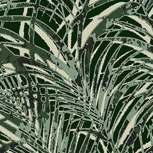 Innovations Wallpaper PLM-03 Palmetto Emerald Island - Inside Stores
