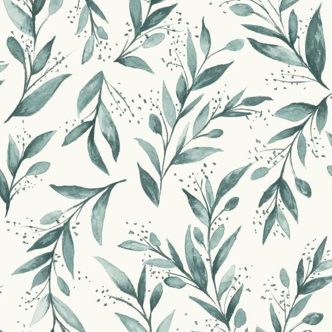 York Wallpaper PSW1002RL Olive Branch - Inside Stores