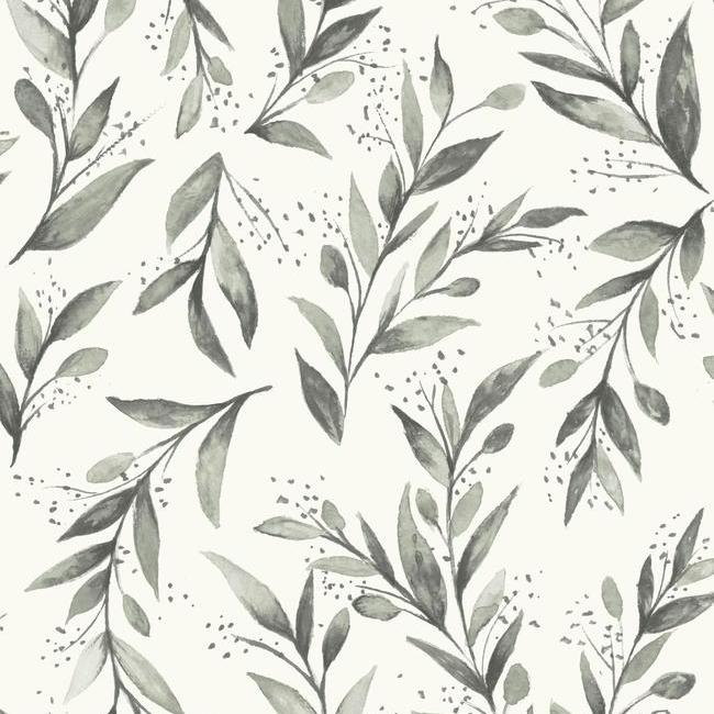 York Wallpaper PSW1003RL Olive Branch - Inside Stores