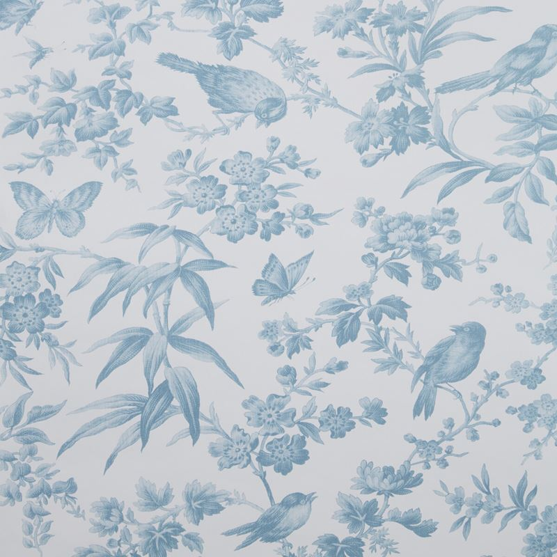Clarke and Clarke Wallpaper W0106-4 Amelia Wp Seafoam - Inside Stores