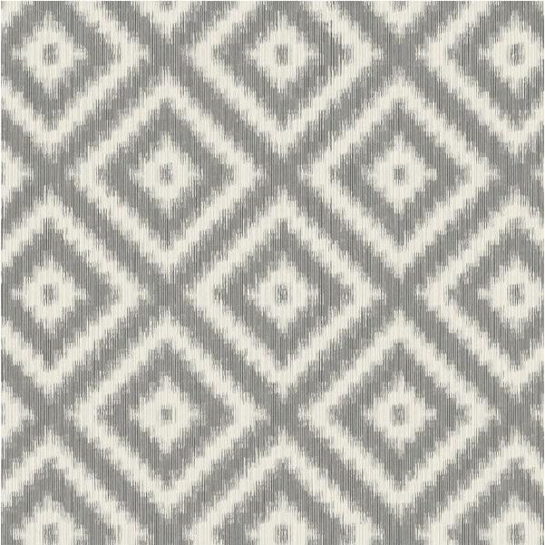 Winfield Thybony Wallpaper WBP10800.WT Ikat Diamond Anchor - Inside Stores