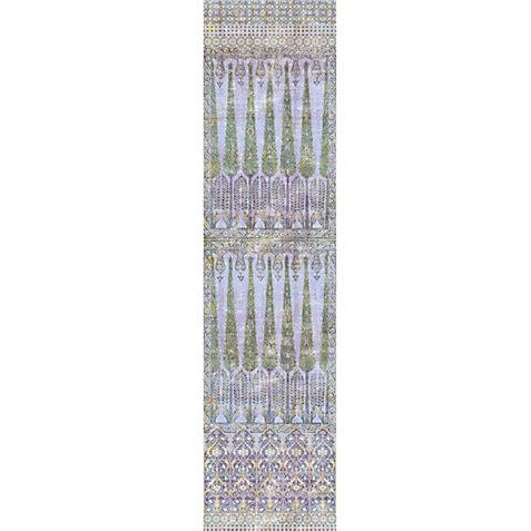 Scalamandre Wallpaper WNMTOPK-017 Topkapi Garden Gold Purple - Inside Stores
