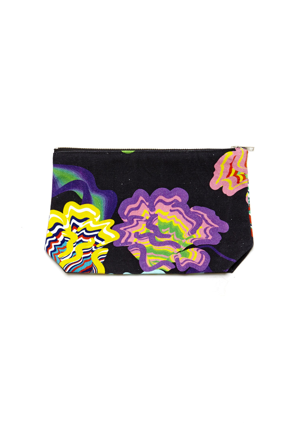 3D Purse (Black Flower)