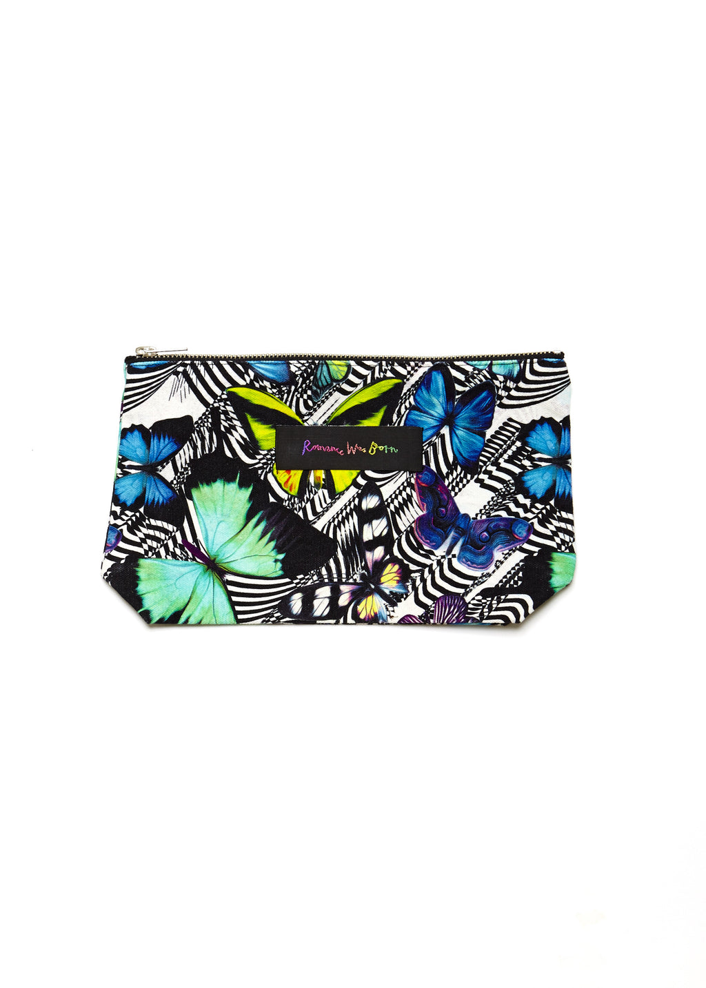 3D Purse (Blk & White/Butterfly)