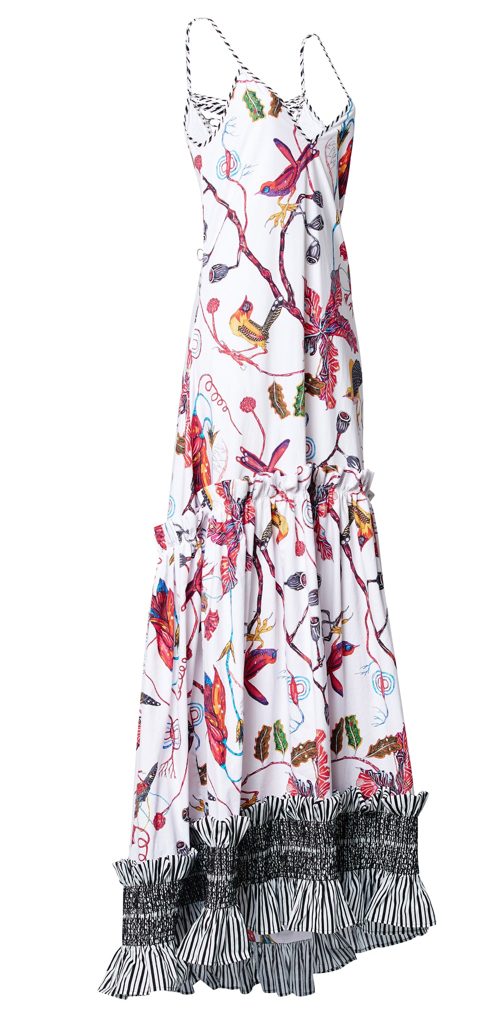 DAY BLOOM COTTON MAXI