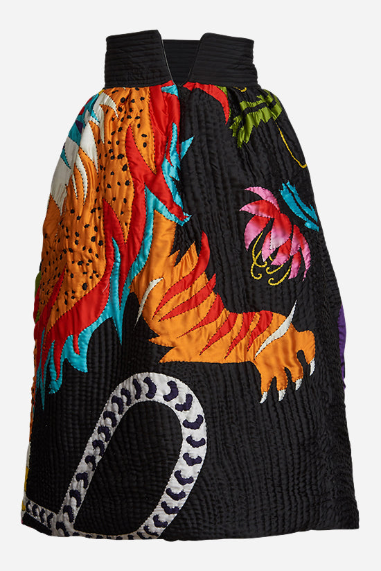 Chimera Applique Quilted Skirt