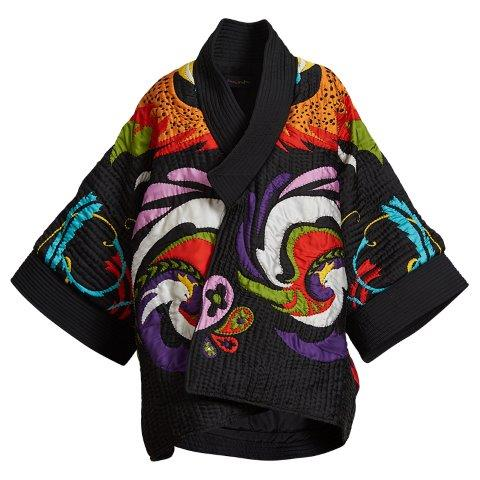 Chimera Applique Quilted Bomber