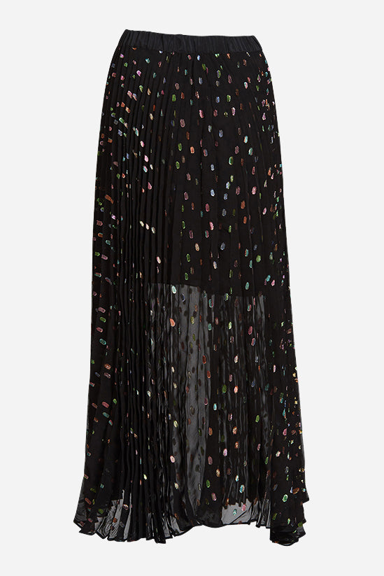Supernova Spot Pleat Skirt