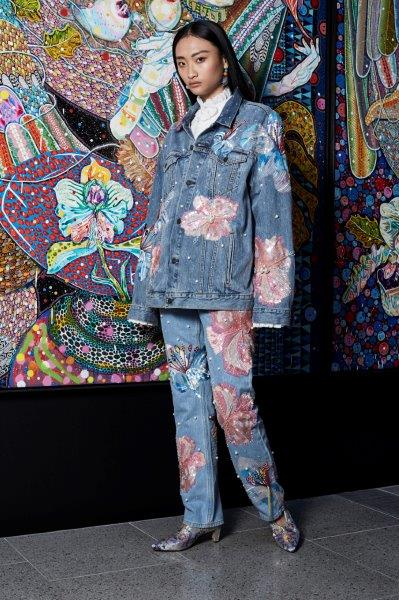 Fertile Flower Denim Jacket X Levis