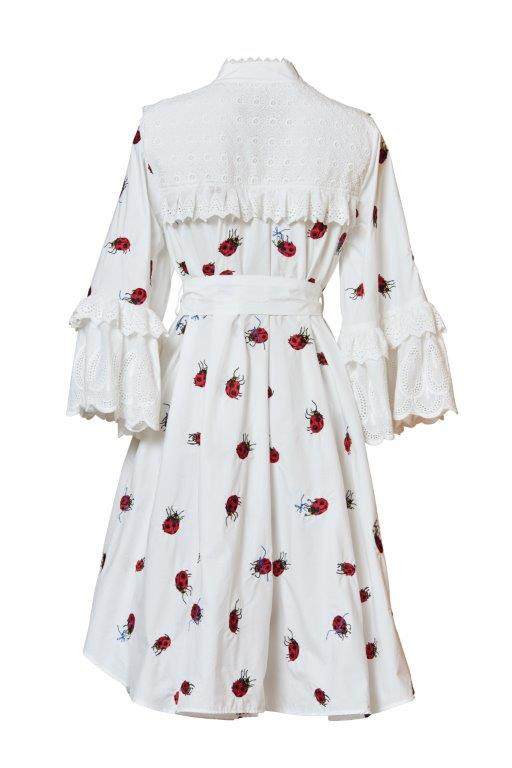 Sisterhood Broderie Shirt Dress
