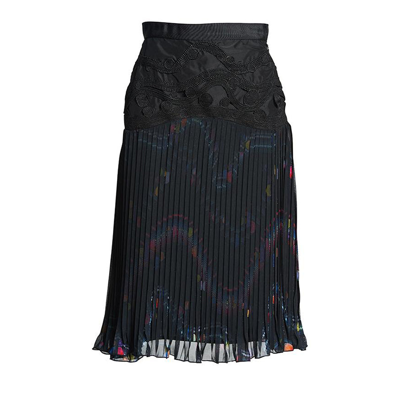 AFTERLIFE PLEATED SKIRT