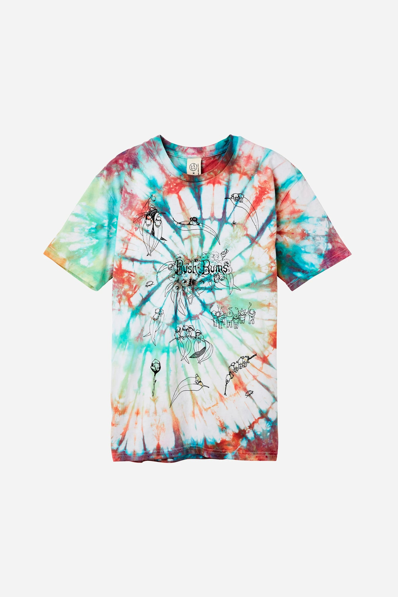 ART DYE BUSH BUMS TEE