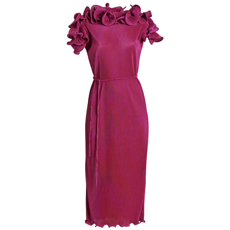 BLOOM PLEAT DRESS