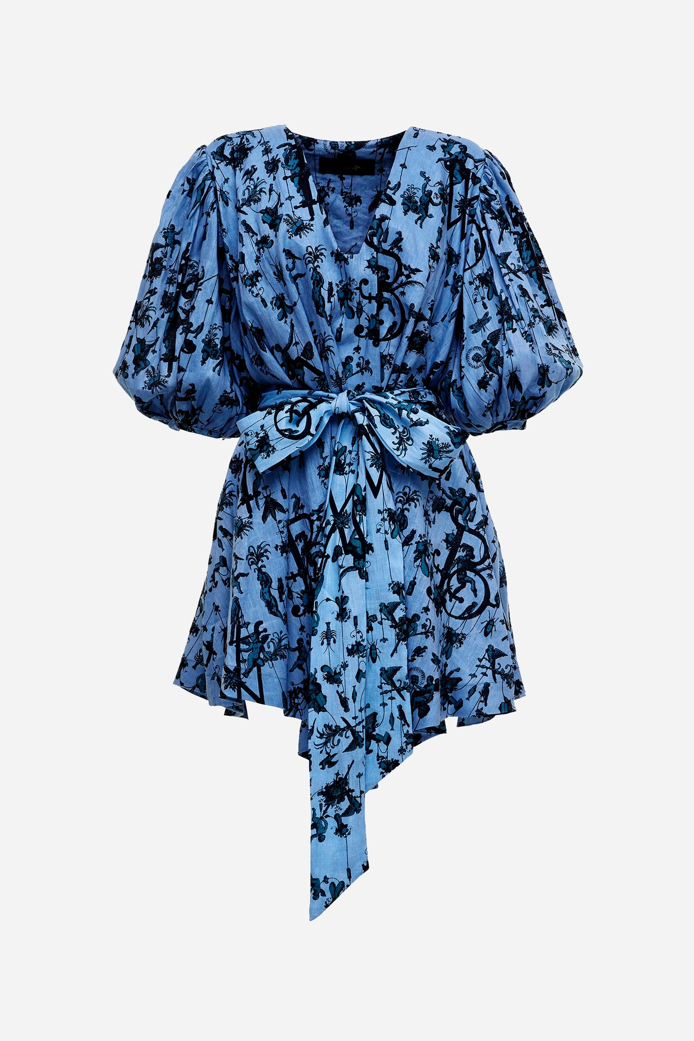 BLUE BELLE SMOCK DRESS