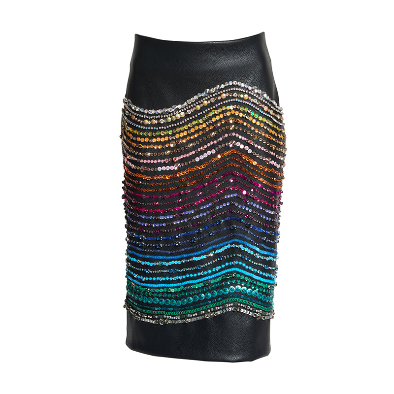CRYSTAL MAGNETIC RAYS SKIRT