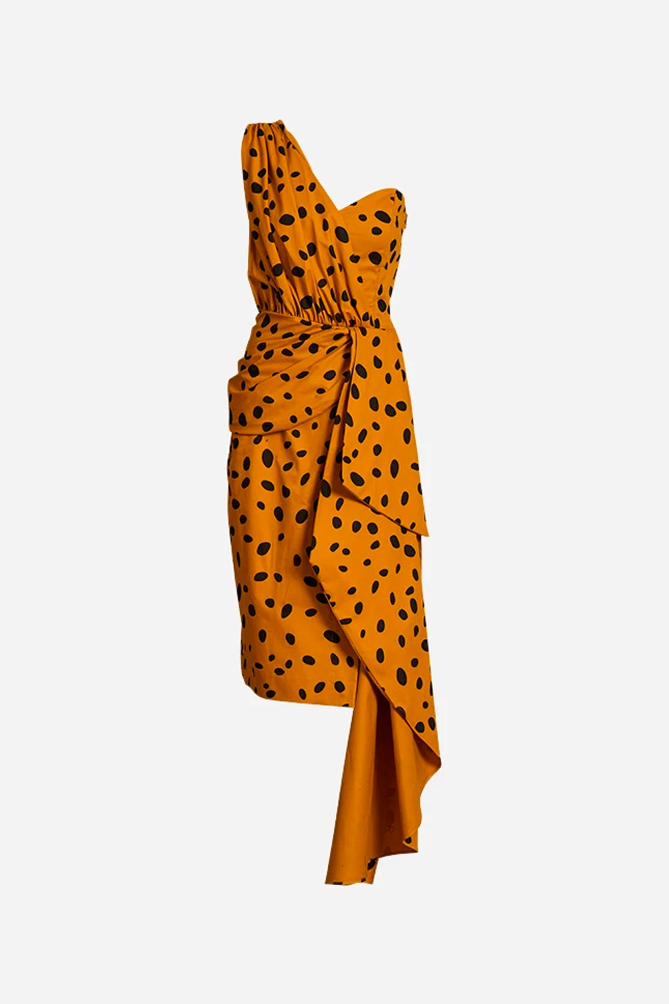 Cheetah Minx Drape Dress
