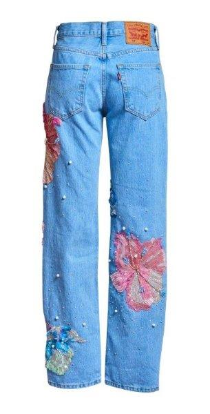 Fertile Flower Jeans X Levis