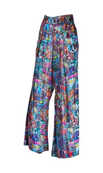 Del Patchwork Pants