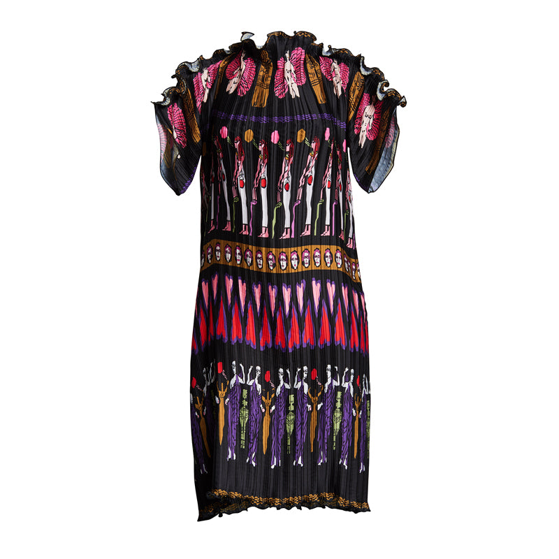 FORTUNY GODDESS TEE DRESS