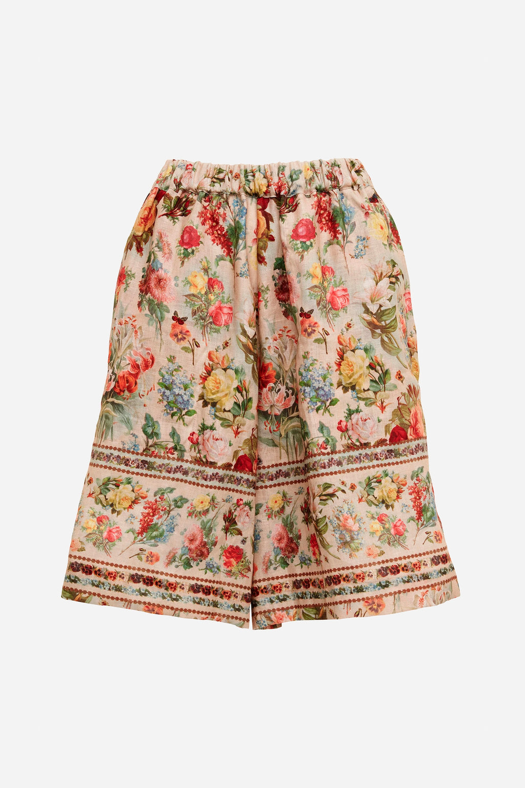 FOXWORTH HALL LINEN SHORTS