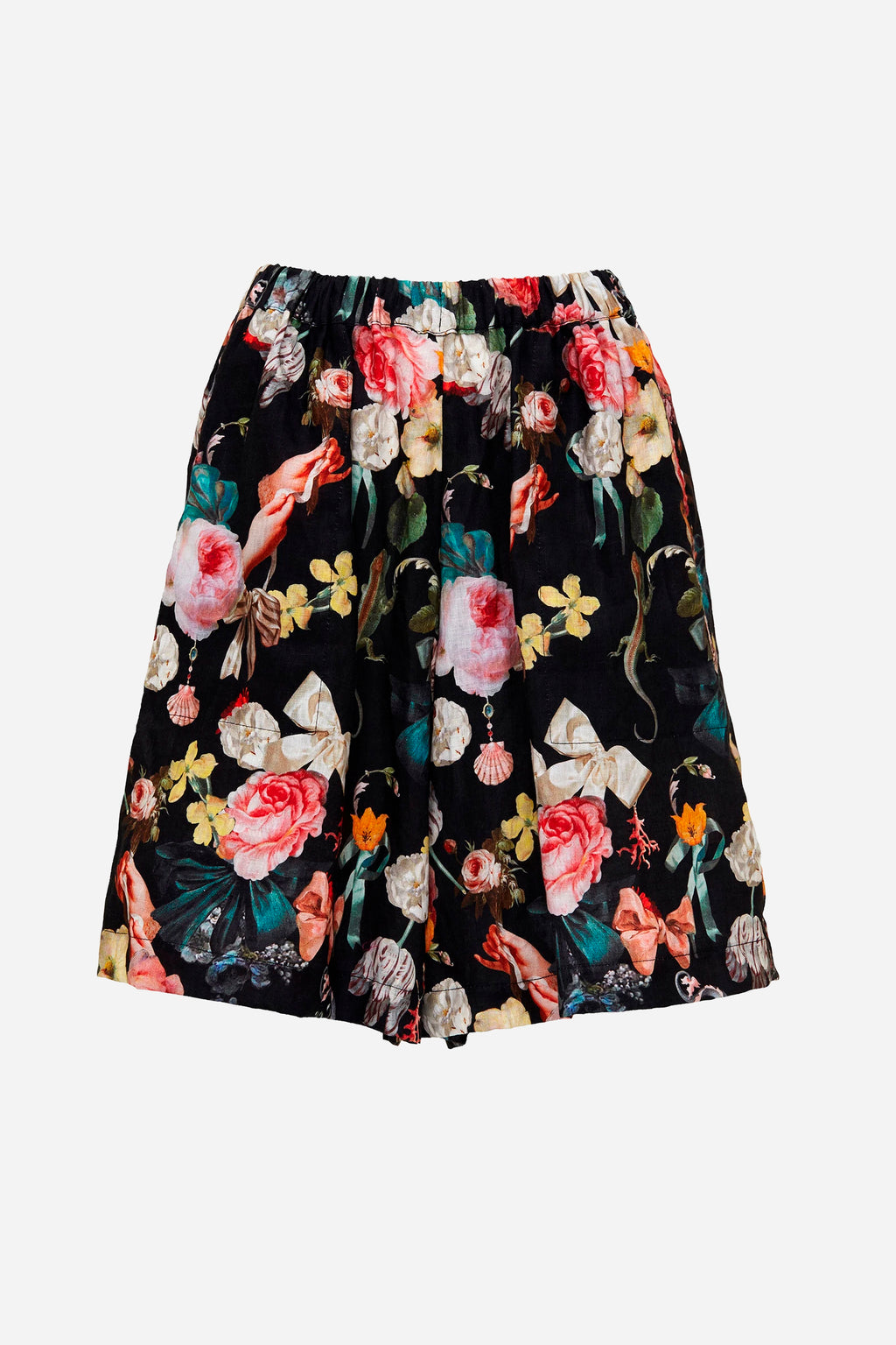 JARDIN DREAM LINEN SHORTS