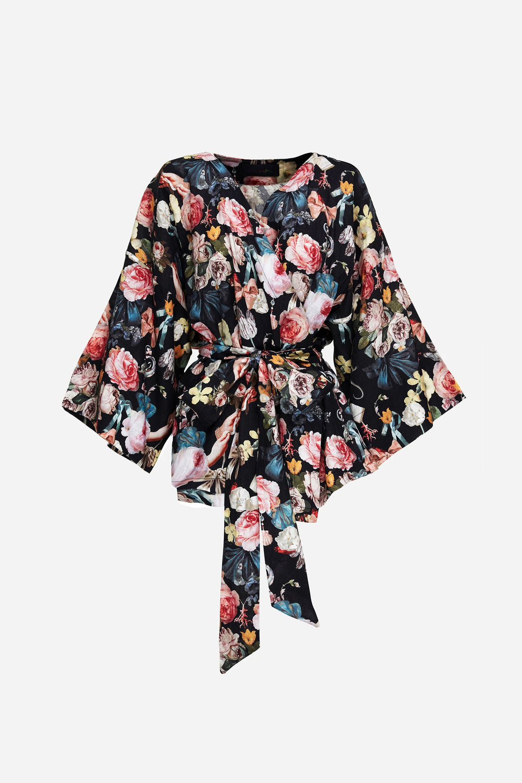 JARDIN DREAM WRAP TOP