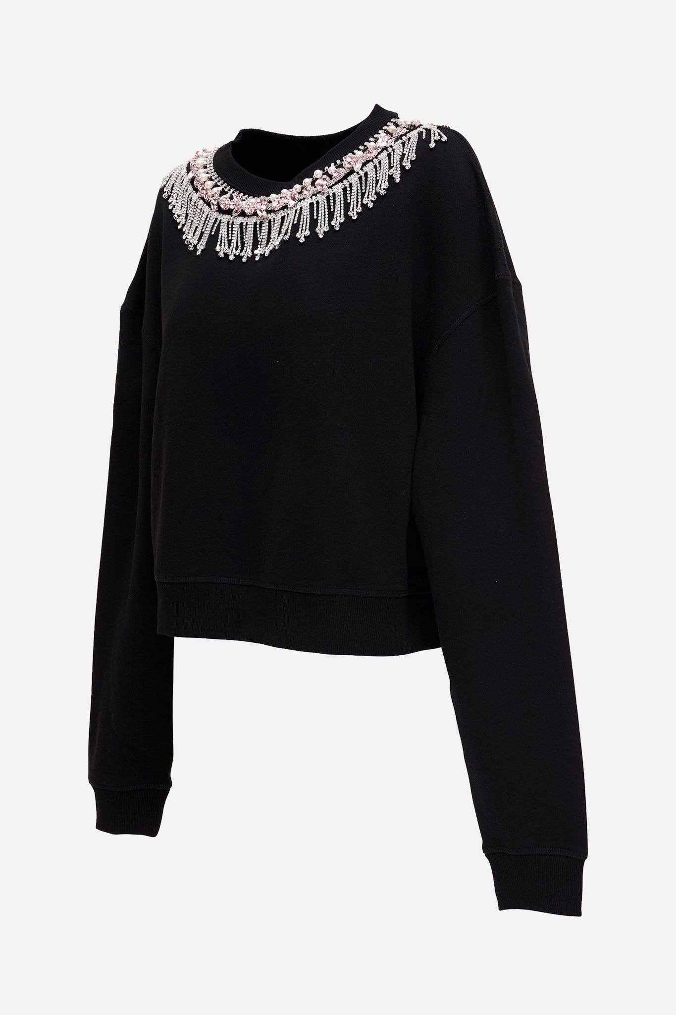 Kindness Bedazzled Crop Jumper