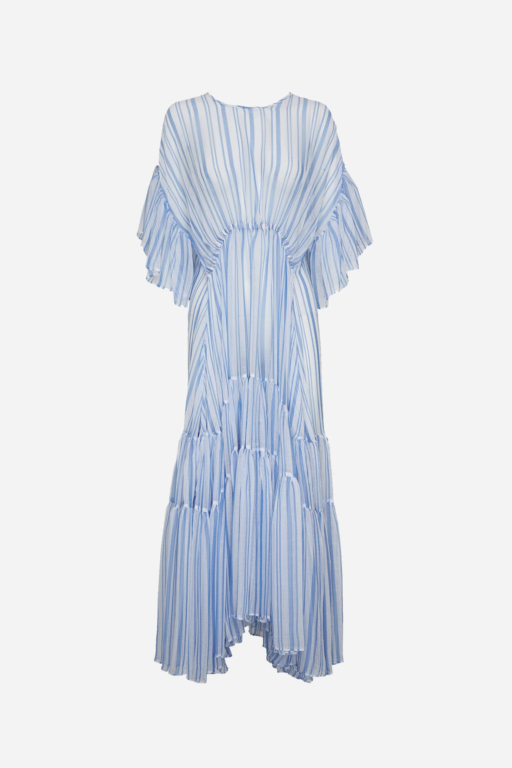 LOUIS STRIPE TIER GOWN