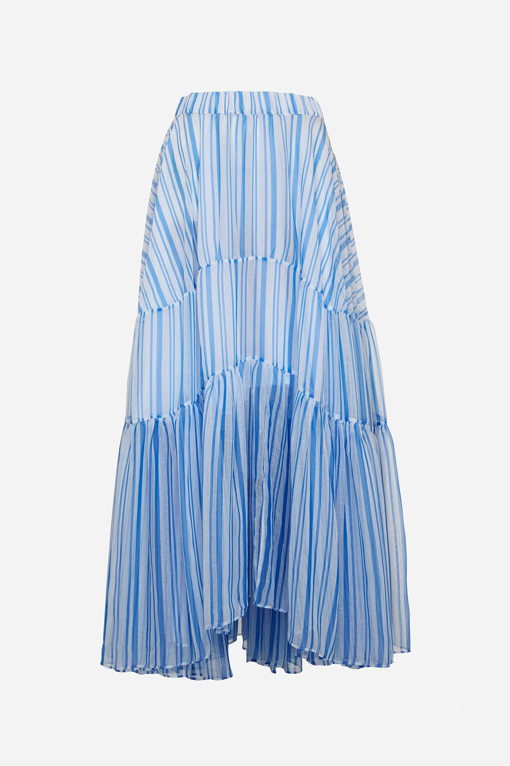 LOUIS STRIPE TIER SKIRT