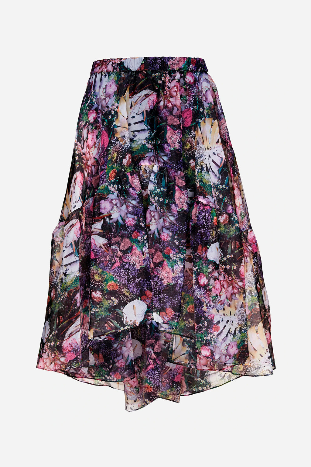 MONTMARTRE FLOWER TIER SKIRT