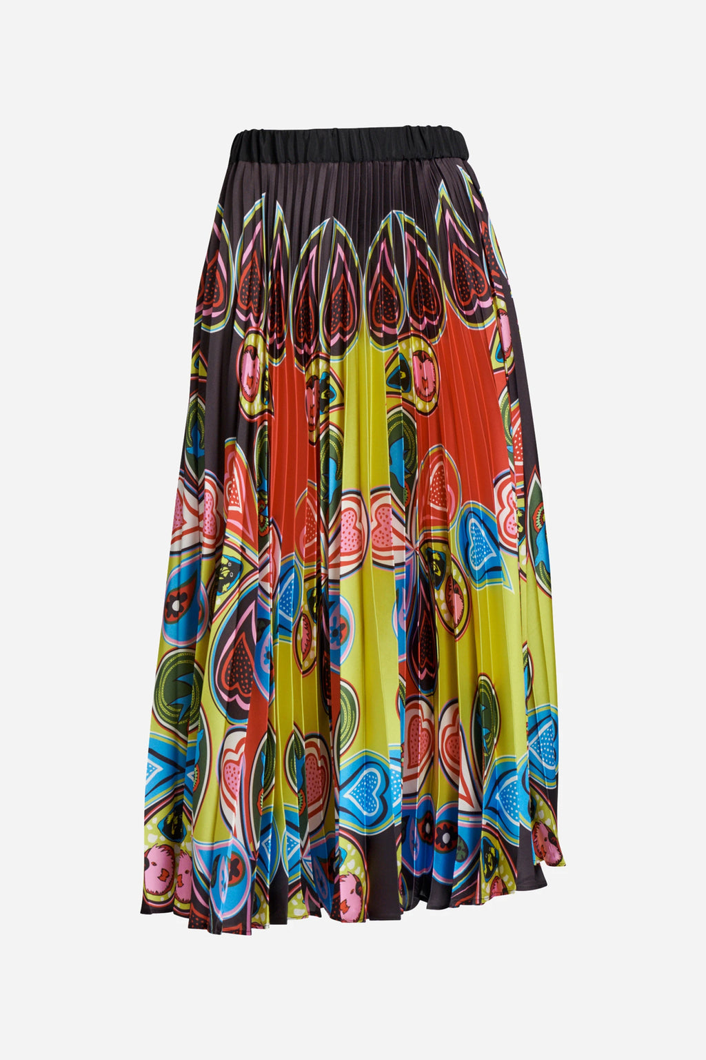 PAGAN PAISLEY PLEAT SKIRT