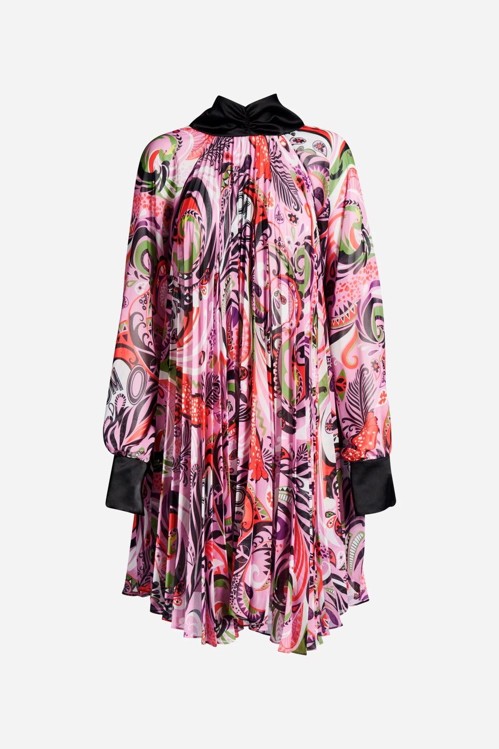 PAISLEY OM TIE DRESS