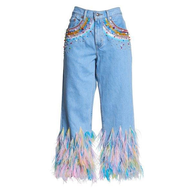 RAINBOW VISIONS JEANS X LEVIS