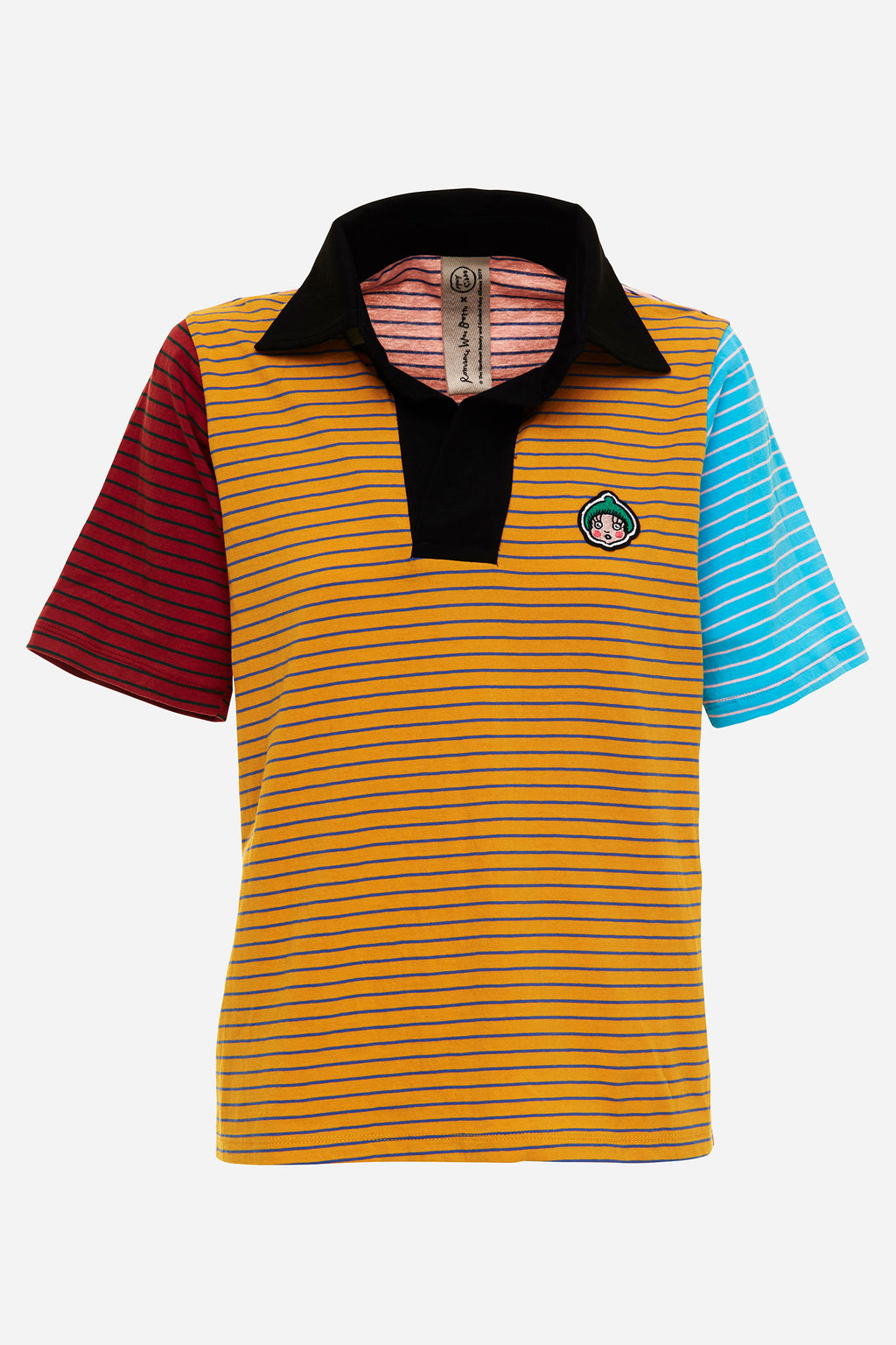 Rugby Multi Stripe Polo Tee