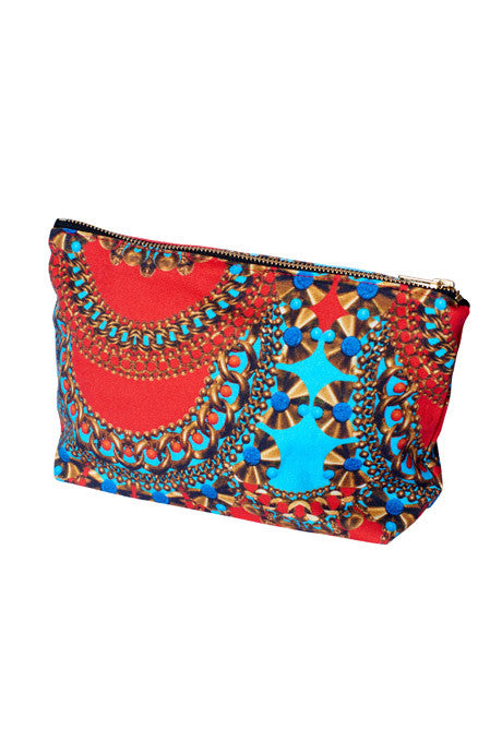 3D Purse (Red & Gold)