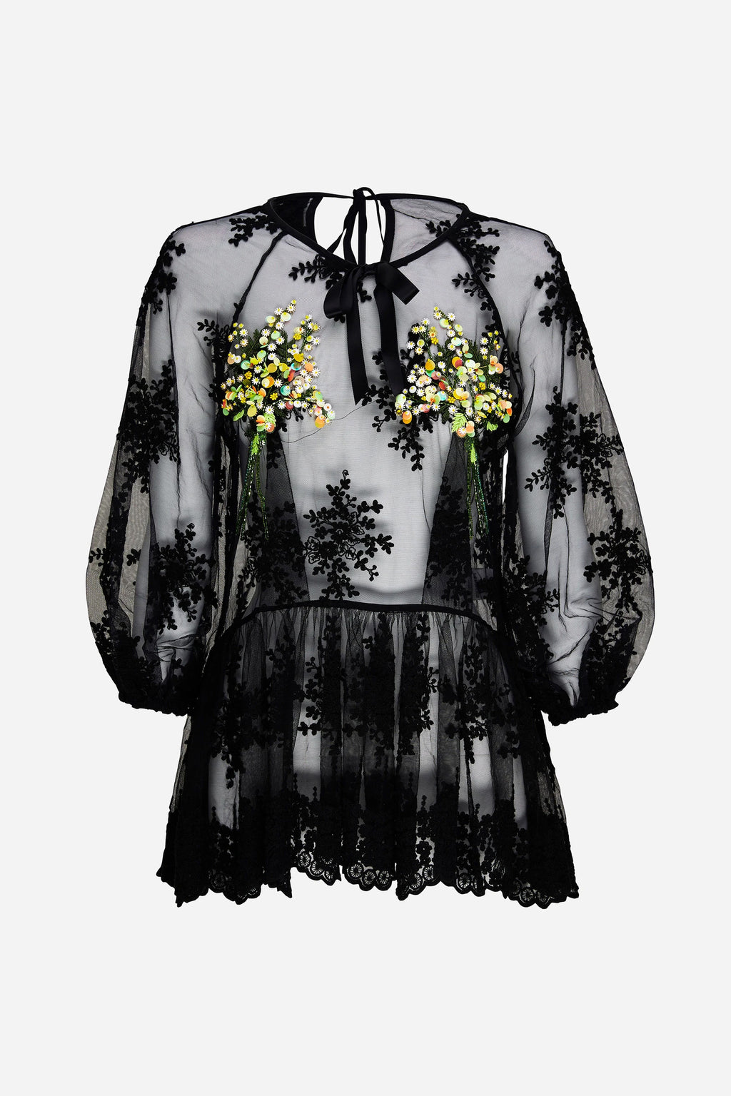 SHEER MIMOSA BLOUSE