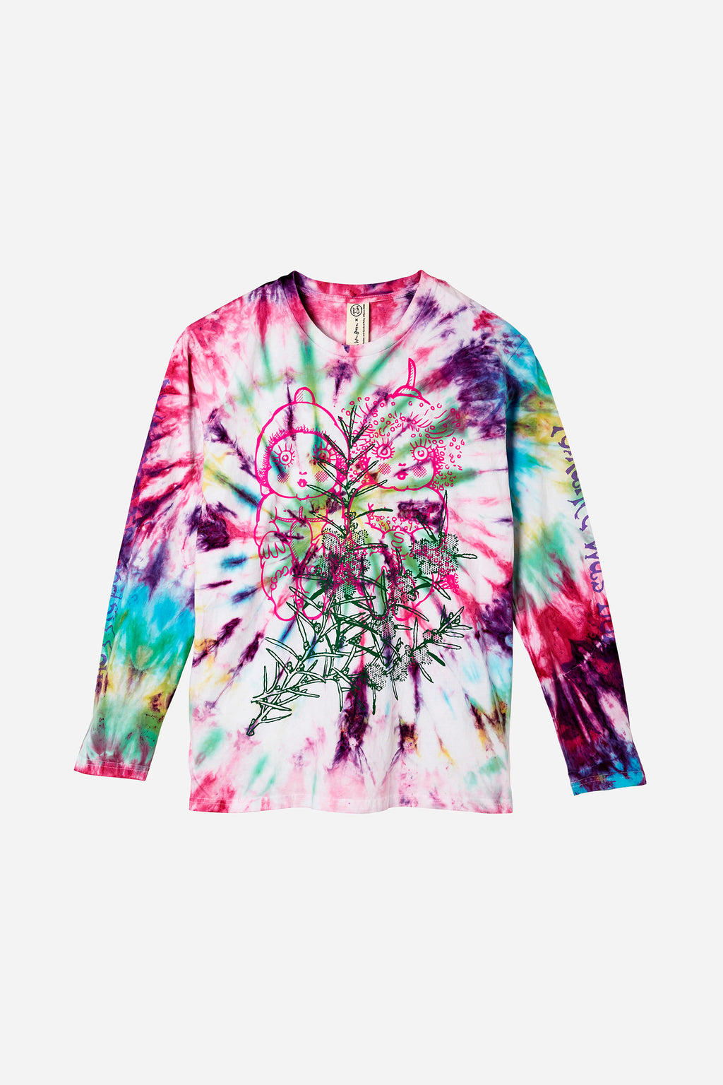 Snugglepot & Cuddlepie Art Dye Long Sleeve Tee