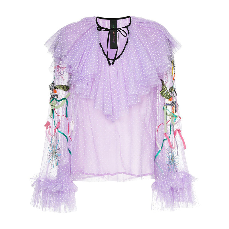 UNICORN BEADED BLOUSE