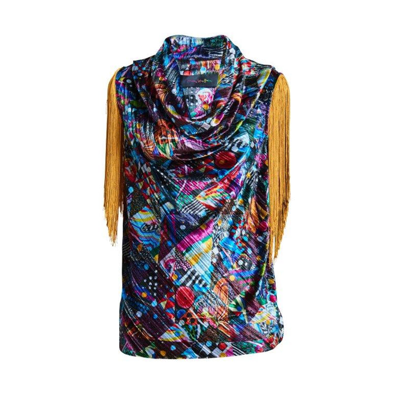Del Patchwork Top