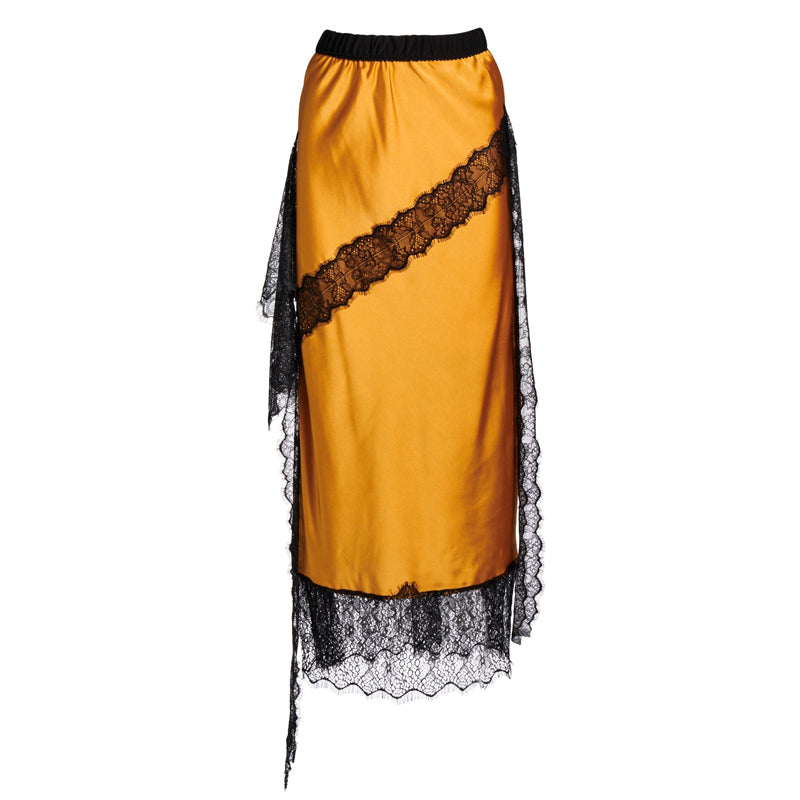 DEVOTION LACE SLIP SKIRT
