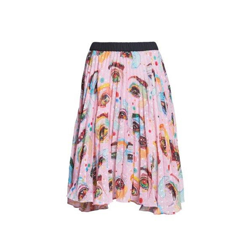 EYECONIC PLEATED SKIRT