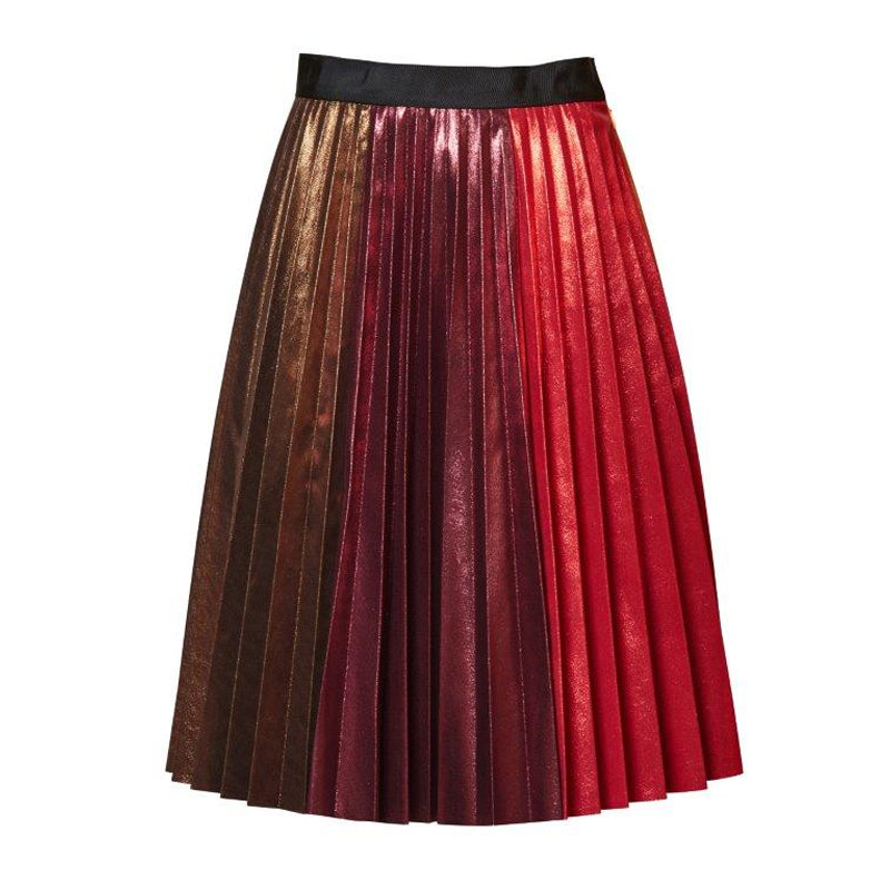 Fortune Teller Pleat Skirt