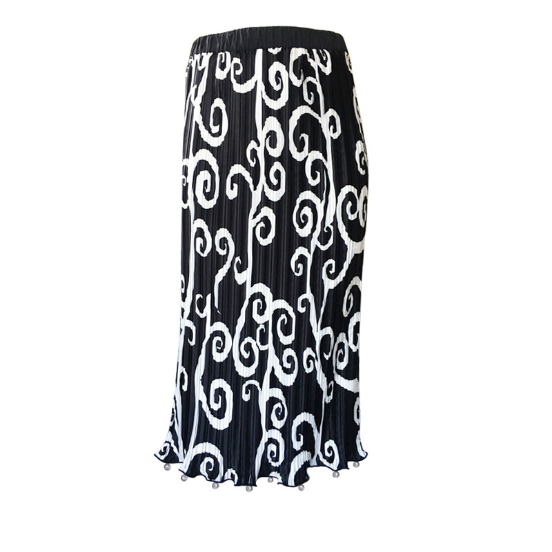 FORTUNY VINE PEARL SKIRT