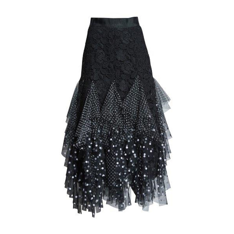 FULL CIRCLE LACE SKIRT